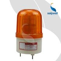 2 w Parafuso Fixo LEVOU Strobe Luz De Sinal/ABS Industrial luz de Aviso Luz 100mm de Diâmetro. (LTE-5101)