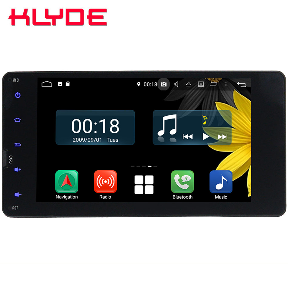 7 Octa Core 4G Android 8 1 4GB RAM 64GB ROM Car DVD Player Radio GPS