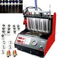 CT200 gasonline 6/4 cylinder Car Motorcycle Auto Ultrasonic Injector Cleaning Tester machine 220/110V Better than Launch CNC602A