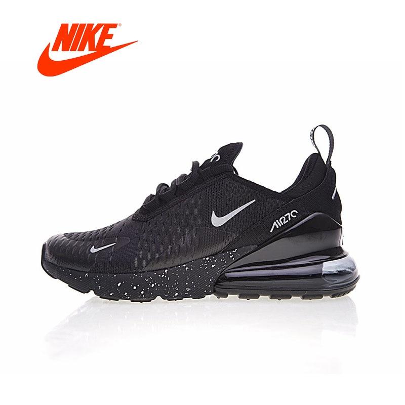 Nike Air Max 270 для мужчин's кроссовки оригинальные аутентичные Спорт на открытом воздухе спортивная обувь дышащие удобные низкие брендовая