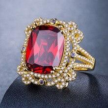 купить diamond rings Plated 925 silver Ruby ring amethyst turquoise Men's Accessories Indian Jewelry Gold ring with zirconB1080 по цене 478.71 рублей
