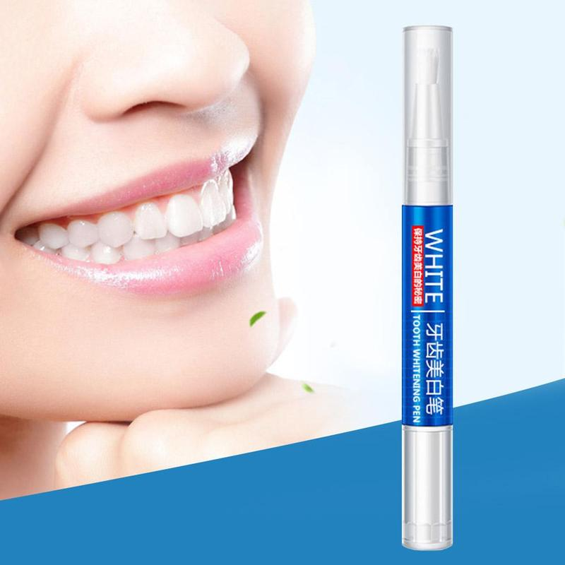 1Pcs Teeth Whitening Pen Tooth Whitening Gel Tooth Bleach Gel Whitener Remove Stains Oral Hygene