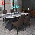 Мебель для дома  обеденный стол из искусственного мрамора для столовой