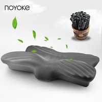 Noyoke 63 35 12 6 Cm Christmas New Year Gift Gray Bamboo Charcoal Neck Care Cervical