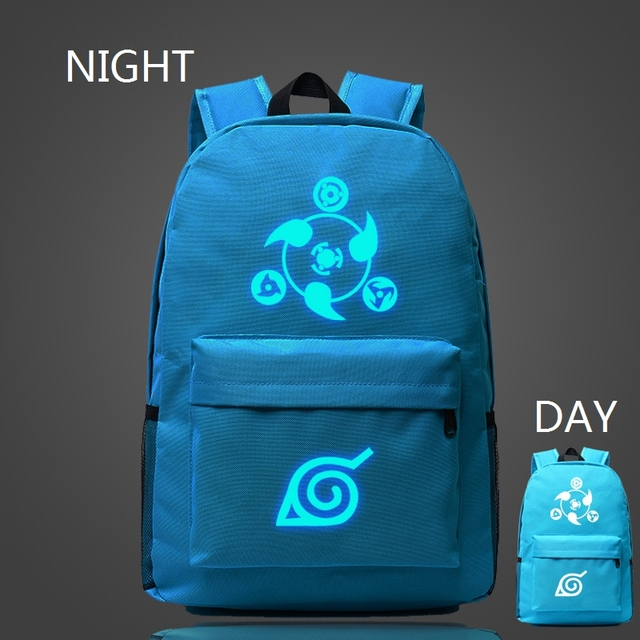 Naruto Luminous Rucksacks Japan Anime Printing Backpack