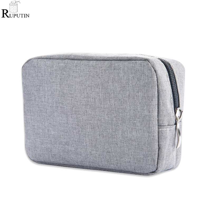 RUPUTIN Travel Digital Storage Bags USB Data Cable Charger Earphone Cosmetic Pouch Mouse Data Cable Mobile Power Protection Bag