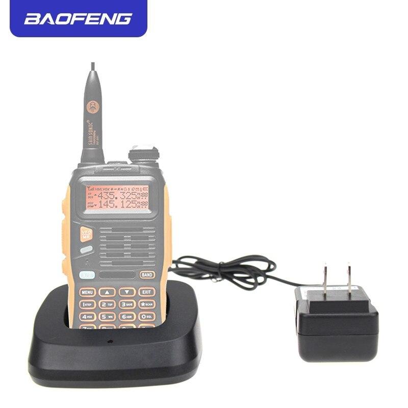 Original Baofeng Walike Talkie Charger Base For Baofeng GT-3 GT-3TP GT3 GT3TP &GT-3 Mark-II Mark-III Two Way Radio With Adapter