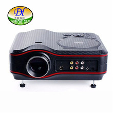 Todo el mundo Ganancia Proyector TV 3D HD DVD Game Reproductor Multimedia Proyector LED LCD de Cine En Casa Negocio Enseñando TL91 Beamer