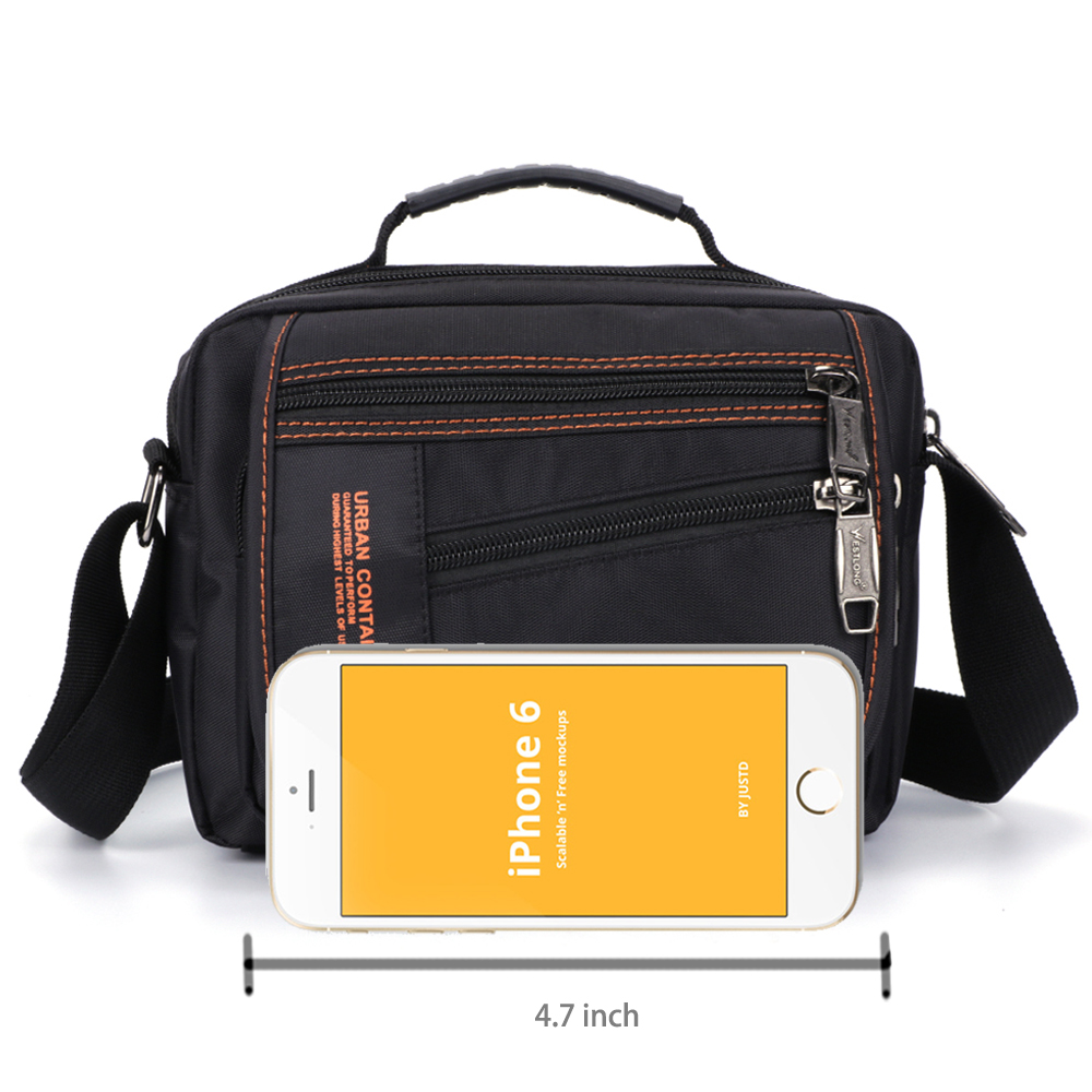 New 3720-1 Men Messenger Bags Casual Multifunction Small Travel Bags Waterproof Style Shoulder Fashion Military Crossbody Bags
