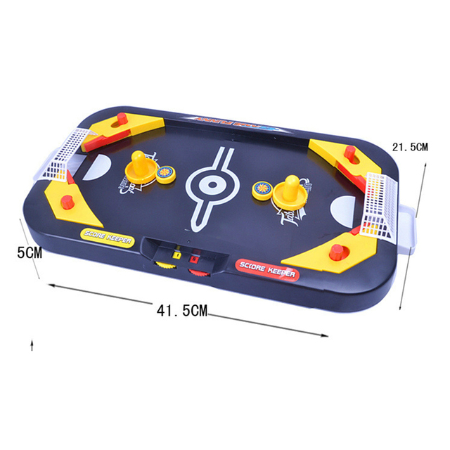 Desktop Battle 2 in 1 ice hockey game leisure mini hockey table children's educational interactive toys