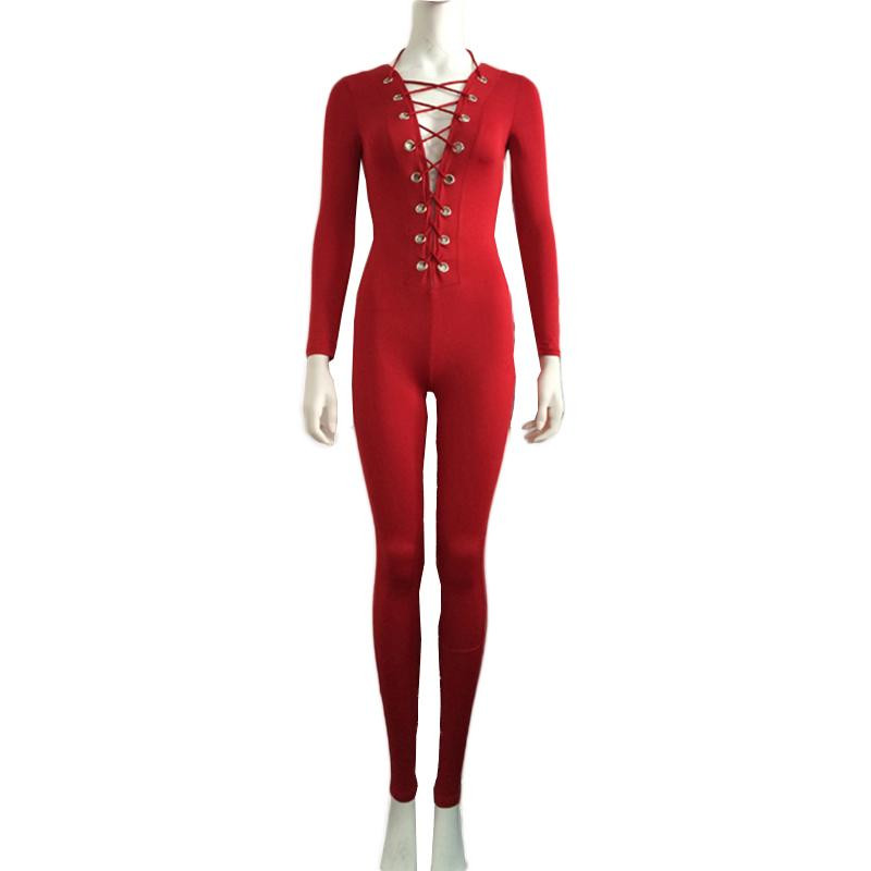 Red-Onesies-Deep-V-Neck-Lace-Up-Jumpsuit--W860427A-1