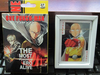 baraja de cartas de one punch man