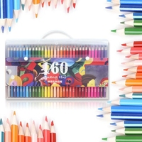 120 160 Colors Wood Colored Pencils Set Drawing Sketch Unique Lapis De Cor Artist Painting Oil
