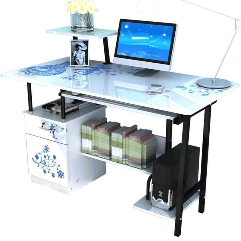 Meuble Scrivania Petit Permanent Schreibtisch Mesa Para Notebook Escritorio De Oficina Ordinateur Portable Stand Étude Table Ordinateur de Bureau