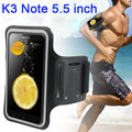 """Lenovo Waterproof Case,Running Sports Workout Armband Gym Exercise Mobile Phone Bags Cases For Lenovo k3 Note 5.5"""""""