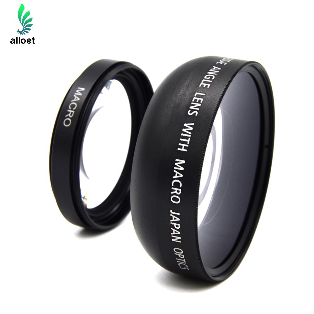 HD 49mm 0 45X Replace Wide Angle Macro Lens For Nikon Cannon Sony A NEX3 NEX5