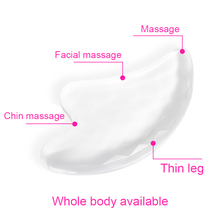 Good Healthy 1 Pcs Transparent Scraping Board Face Facial Massage Tools Beauty