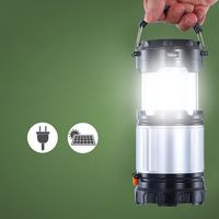 Multifunction Travel Gear Equipment For Hiking Camping Tools Supply Multifunction Outdoor LED Camping Lantern Handheld Flashligh