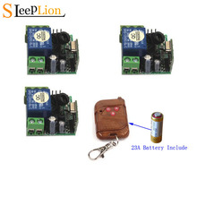 Sleeplion 433Mhz Universal Wireless Remote Control Switch DC 12V 1CH Relay Receiver Module and RF Transmitter 315MHz Control 1 pc dc 12v 10a relay 1ch wireless rf remote control switch transmitter receiver 315mhz 433mhz