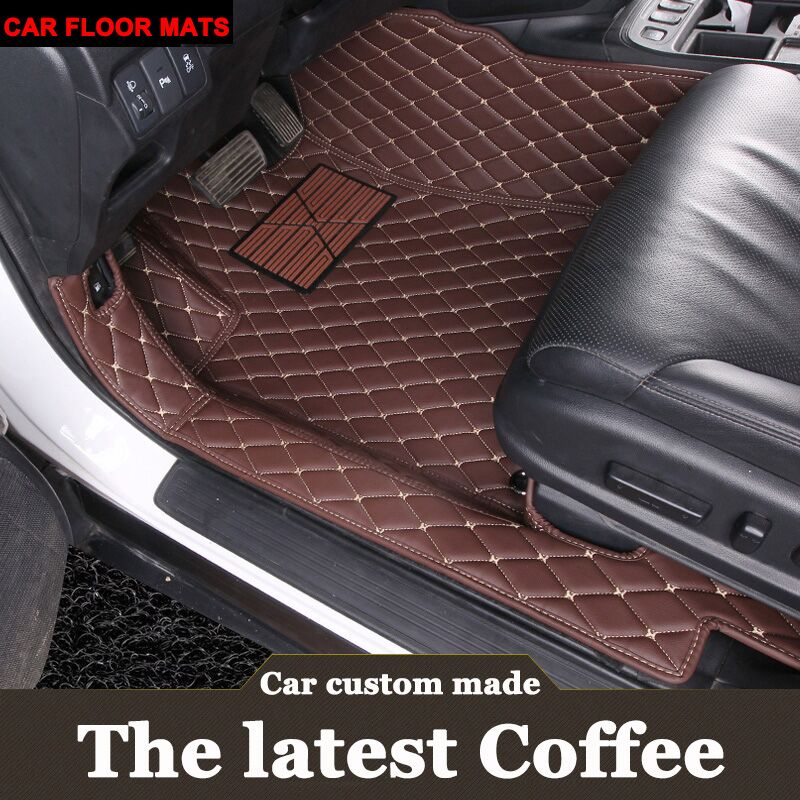 Customized car floor mats for <font><b>Lexus</b></font> <font><b>GS</b></font> 200t 250 300 <font><b>350</b></font> 430 450H 460 <font><b>F</b></font> <font><b>Sport</b></font> GS200T GS250 GS350 GS300 GS45OH carpet rugs (2005- image