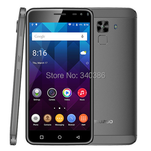 2016 Hot New Bluboo Xfire 2 Fingerprint Touch ID Smartphone Android 1GB RAM/8GB ROM games store