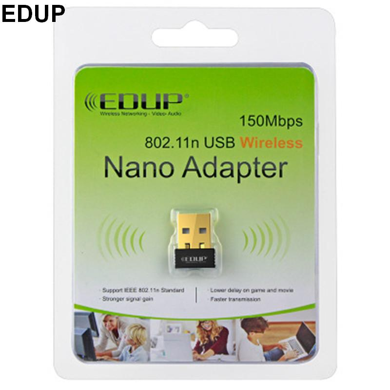 MINI 802.11N 150mbps wireless wifi adapter 2.4G network lan card with retail box package for Windows XP/Win7/win 10/Linux/Mac