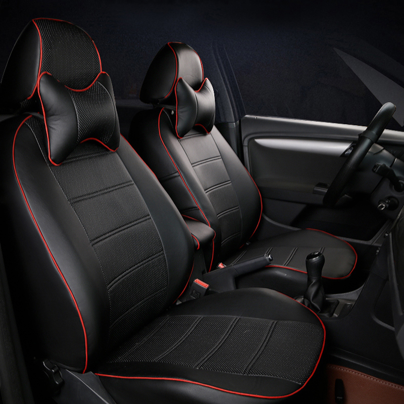 Custom cover car seats for Land Rover Freelander 2 car seat covers accessories PU leather seat
