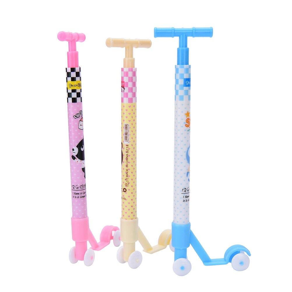 3 Teile/los Kreative Design Kawaii Roller Kugelschreiber Kugelschreiber Neuheit Kinder Spielzeug Schule Geschenk Die Nieren NäHren Und Rheuma Lindern