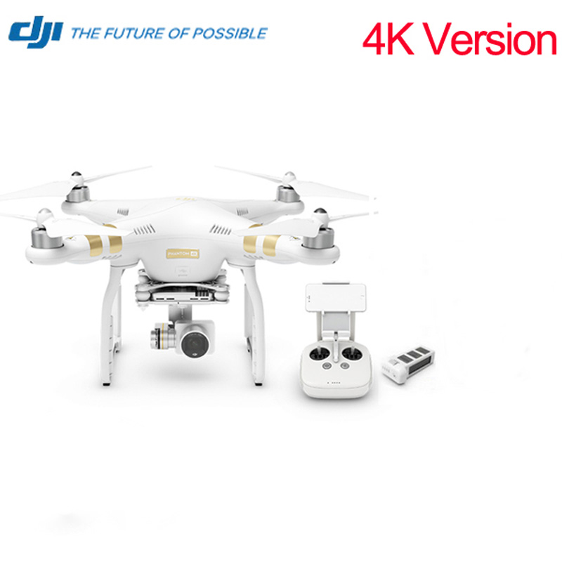 Free Gifts Original DJI Phantom 3 4K Quadcopter Helicopter RC Drone VS Phantom 3 Professional Advance DHL EMS Free
