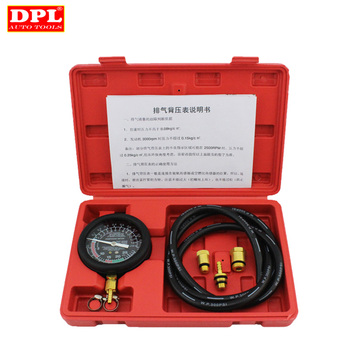 Professional Exhaust System Diagnostic Tool Exhaust Back Pressure Tester utmall exhaust back pressure tester set pressure gauge test tool kit sensor professional gauge test kit diagnostic tool