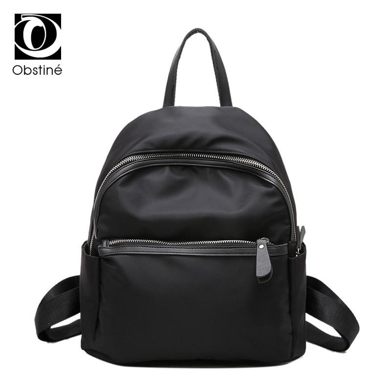 High Quality Women Backpack Nylon Waterproof School Bags Womens Backpacks Travel Shoulder Bag for Teenager Girls