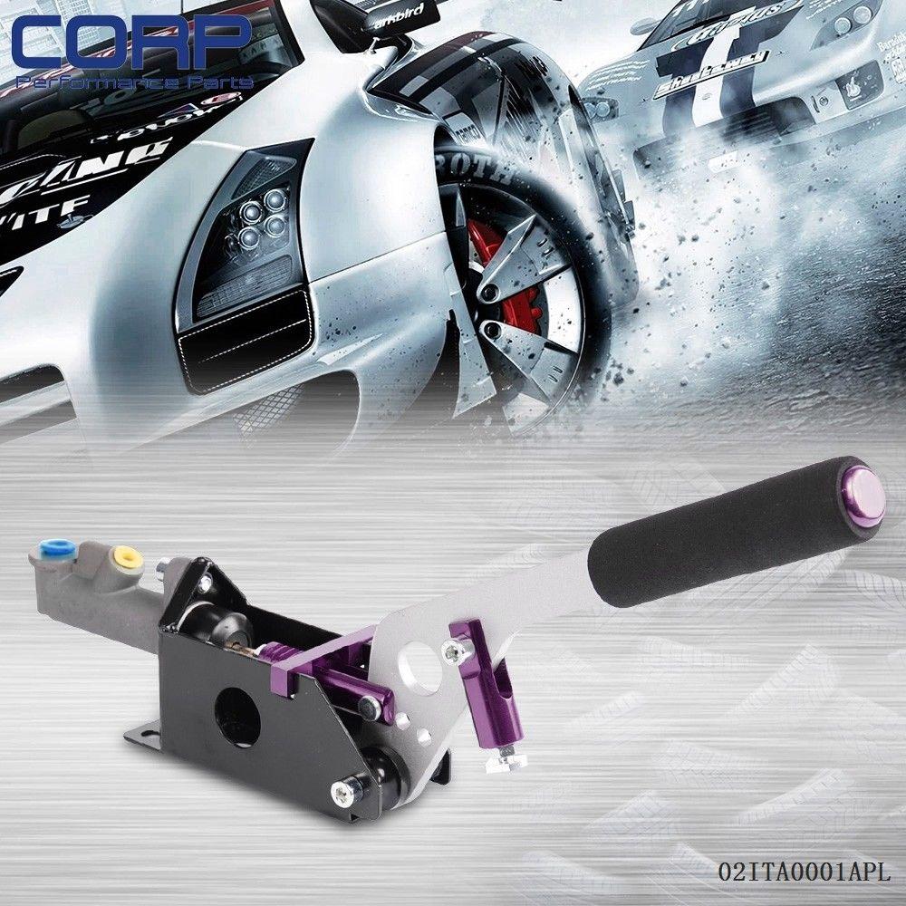 Free Shipping Hydraulic Hand Brake With Pump 180sx Sti Evo Rx7 Drift Horizontal Vertical