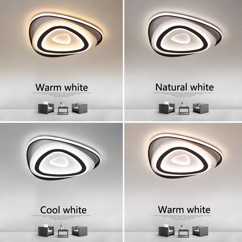 Creative LED Ceiling Lights Acrylic Triangle Ceiling Lamp Dining Room Living Room Bedroom Kitchen Modern Home Lighting FixturesCreative LED Ceiling Lights Acrylic Triangle Ceiling Lamp Dining Room Living Room Bedroom Kitchen Modern Home Lighting Fixtures