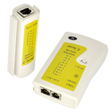 CNCOB RJ45 and RJ11 Network Cable Tester Ethernet LAN Network Test Tool Cat5E Cat6A Cat3 RJ12 CHL-468 UTP FTP Detector
