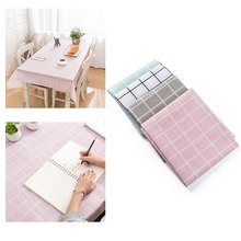 Nordic Plaid Printed Decorative Table Cloth Tablecloth For Kitchen Home Decor Dining Table Cover Rectangular Tables reducer decompression tables table