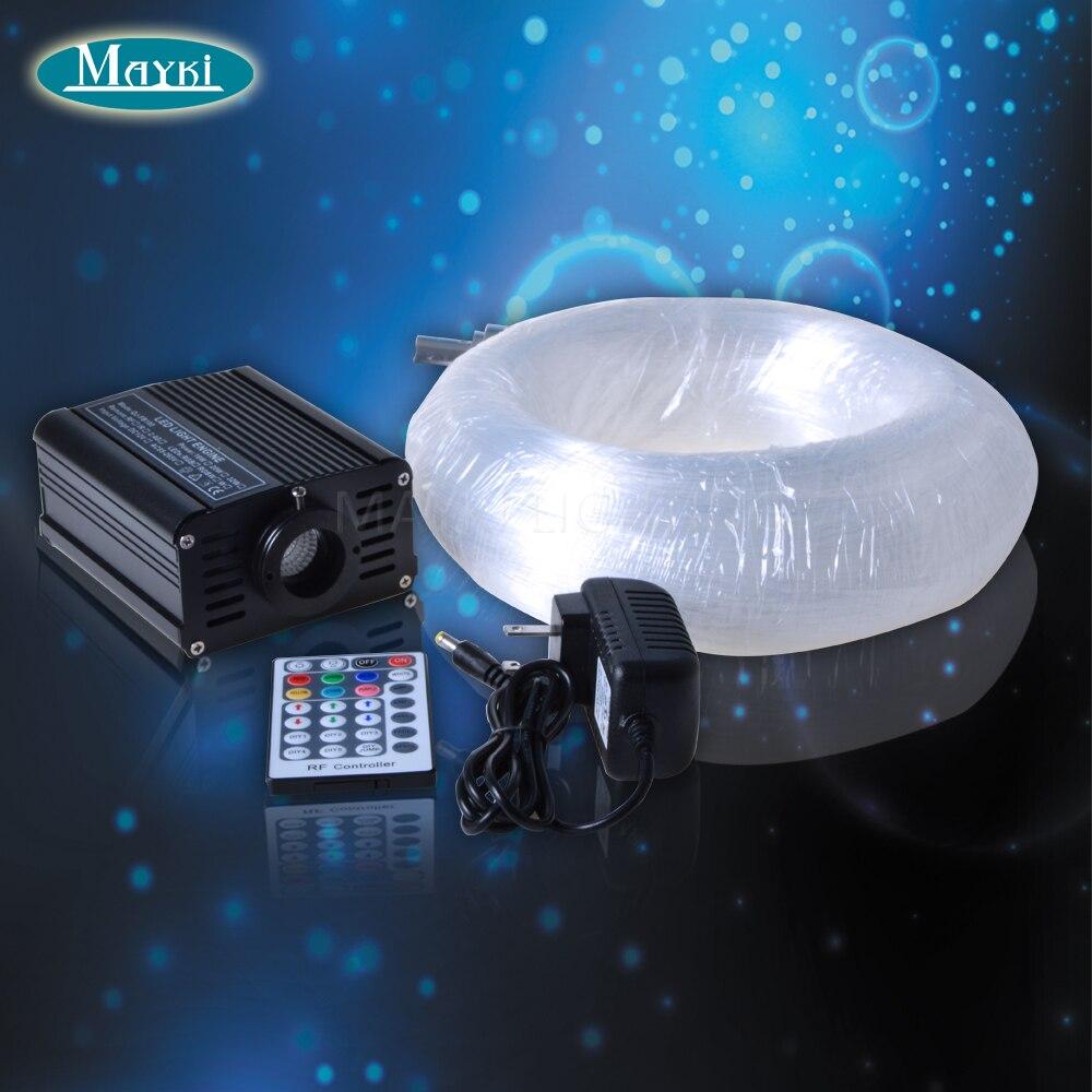 Maykit Billigt pris Interiördesign Dekoration RGB Fiber Optic Cafe Bar med 348 slutlampor Star- och Led Light Engine