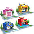 NEW ARRIVAL Super Wings Plane Base Assembly Building Blocks Educational DIY Models Toys Birthday Christmas Gift For Kids