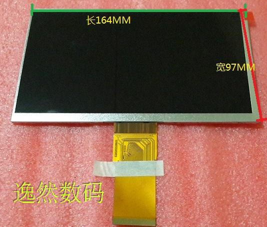 7 inch Tablet PC 50P HD LCD display can be common within 1024X600 screen 97 * x164mm