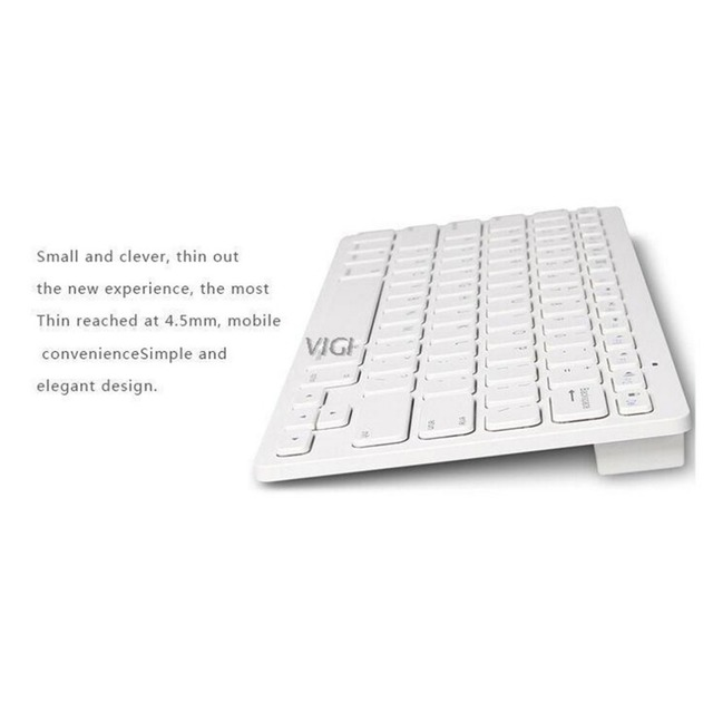 Bluetooth Wireless Keyboard for Apple For iPad 2 3 4 for Mac Computer PC for Macbook
