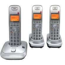 İngilizce Dil DECT 6.0 Artı 1.9 GHz Dijital Telsiz Telefon Çağrı KIMLIĞI Handfree DEL Ofis Bussiness Için Kablosuz Ev Telefon