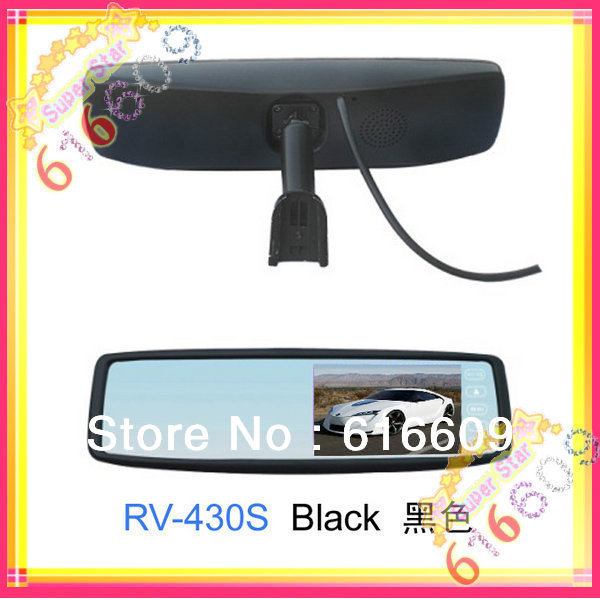 4.3 inch Original car Rearview monitor with touch screen (according bracket ) for KIA K2 car rear view system