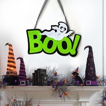 Letter Indoor And Outdoor Halloween Hanging Decoration Wall Signs For Home, Door ,Office, Party Decorations