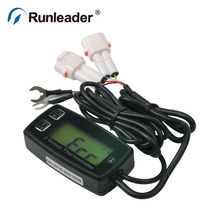 Digital LCD TS002 PT100 20 300 TEMP meter temperature thermometer with 2 temp sensor for forklift