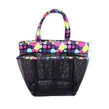 Premium Quality Fashion Mesh Tote Beach Bag Shopping Grocery Shoulder Purse Large Capacity Toiletry Organizer Handbag