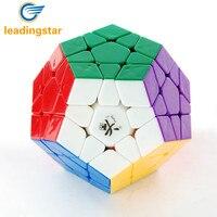 LeadingStar Spedizione gratuita! Colore bianco Dayan Megaminx 1 Stickerless Cubo Magico Buon Giocattolo per Bambini E Adulti zk30