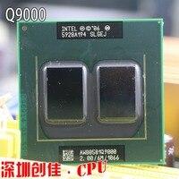 Original Intel CPU Bộ Vi Xử Lý Máy Tính Xách Tay Intel Q9000 2.0 GHz 6 MB 1066 MHz quad core PGA478 Cho GM45 PM45 q9100