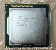 Lntel Xeon E3 1220 E3 1220 (3,1 GHz/8 MB/4 kerne/Buchse 1155/5 GT/sQuad Core Server CPU E3-1220 (arbeiten 100% Freies Verschiffen)