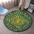 Высокое качество  круглые ковры для гостиной  коврик для двери  мультяшный ковер  спальня  кабинет  журнальный столик  прикроватный декор  на...