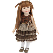 45 cm AMERICAN GIRL Dolls 18 Inch Silicone Baby Dolls Bebe Reborn Babies Our Generation Doll Birthday Gift Reborn Babies Juguete