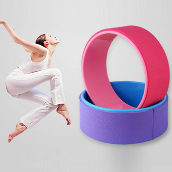 33*13cm TPE+PC Yoga Wheel Pilates Circle Ring Women Fitness Tool Home Slimming Stretching Backbend Balance circle